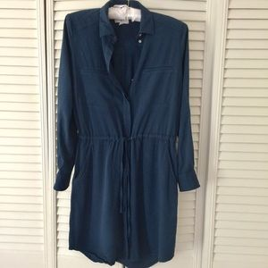 Lou & Grey Rayon Shirtdress